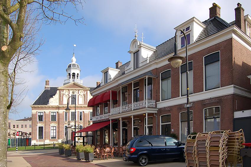 Grandcafé Paul Kruger, Heerenveen, Sipma Architecten