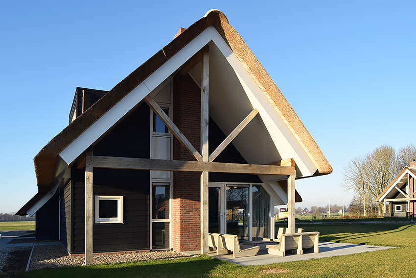 Vakantiewoningen, Vakantiepark, Terkaple, Sipma Architecten