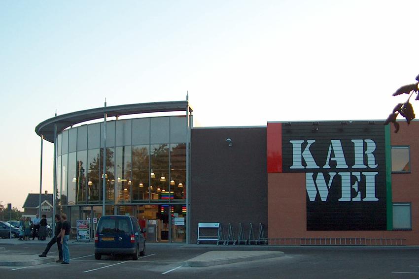 Karwei Barneveld, Sipma Architecten