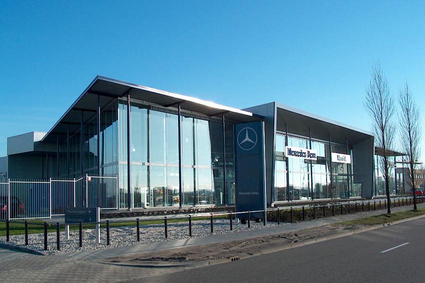 Mercedes Benz garage Heerenveen, Sipma Architecten