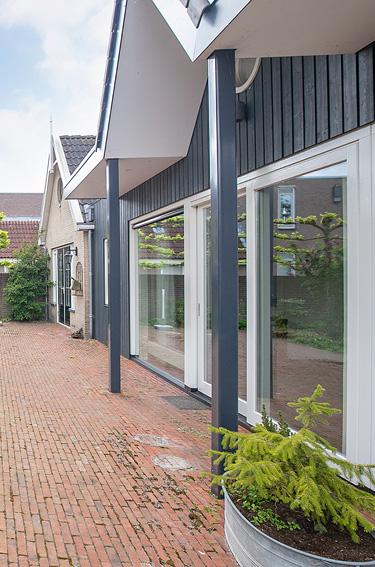 verticaal Woonhuis Breedpad 27 Heerenveen Sipma Architecten