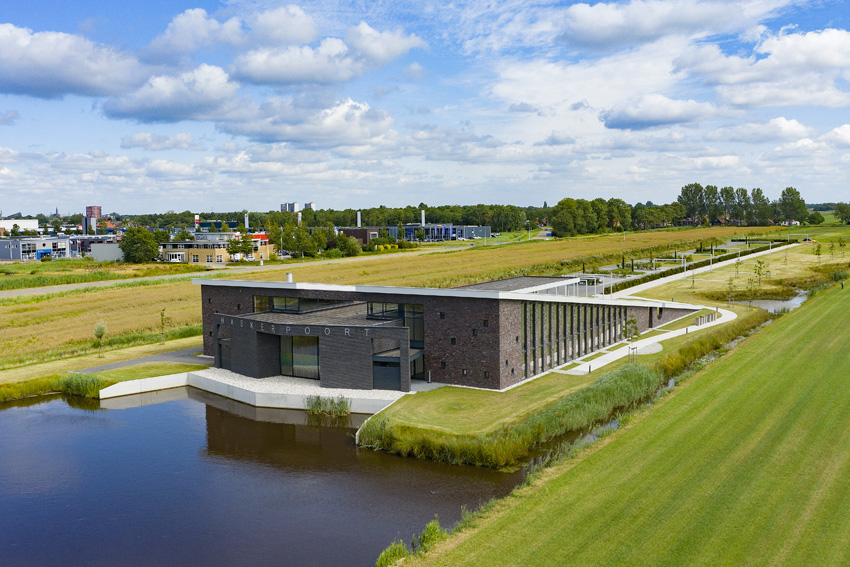 Crematorium Haskerpoort Oudehaske, Sipma Architecten