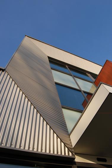 verticaal Gezondheidscentrum De Greiden Heerenveen, Sipma Architecten